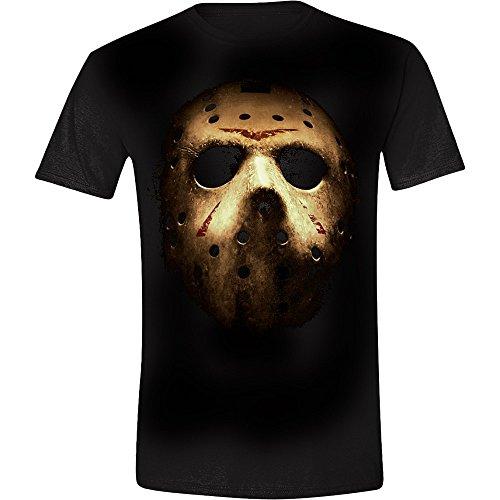 Friday The 13th Jason's Mask Camiseta Negro XL