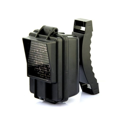 128pcs Nero IR Extender per Forest Wild fotocamere Booster caccia flash infrarossi IR (Ir Booster)