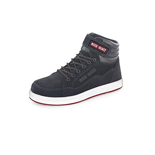 Result Herren Work Guard Reflect Sicherheitsstiefel (45 EU) (Schwarz/Weiß/Rot) (Sneaker Guard)