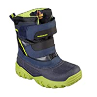Skechers High Slopes Boots Boys Waterproof Winter Snow Rain Cold Shoes 96111L