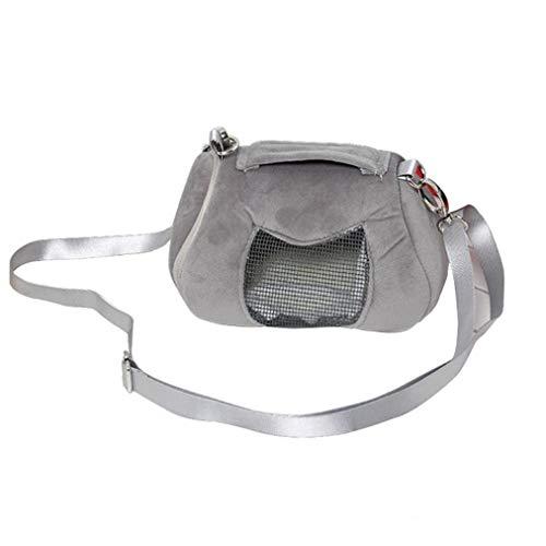 Comfort Breathable Beweglicher Rucksack Kleintiere Tasche Erholung Käfig Hamster Tragetasche Für Reisen
