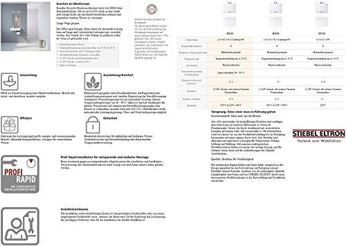 Stiebel Eltron elektronisch geregelter Mini-Durchlauferhitzer DEM 3 - 6