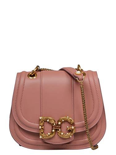 Luxury Fashion | Dolce E Gabbana Donna BB6677AK29580472 Rosa Borsa A Spalla | Primavera Estate 19