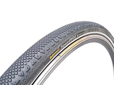 """28"""" Zoll Fahrrad Reifen Continental Speed Ride 28 x 1.60 schwarz Reflex 42x622"""