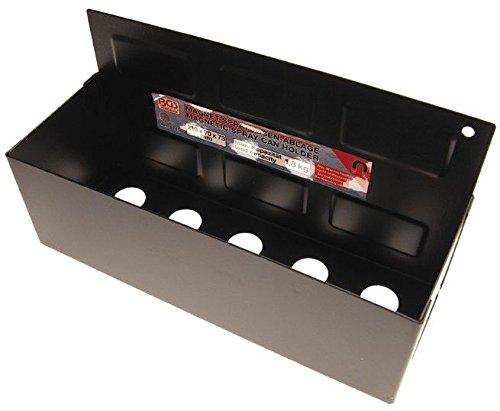 BGS 67156 , Magnet-Spraydosen-Ablage , 210 x 75 x 70 mm , 6 starke Magnete, Haltekraft ca. 1,8 kg