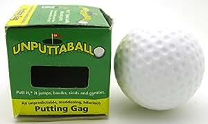 Balle De Golf aleatoire zig zag Unputable Gag Impossible De Putter Cette Balle