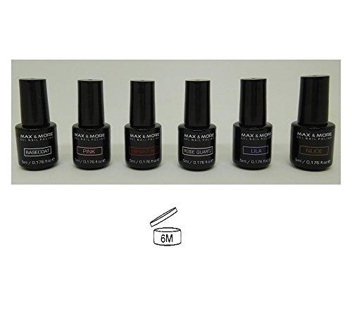 6-stuck-nagellack-gel-nail-polish-uv-5-ml-nagel-manikure-schonheit-407