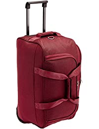 Safari Tridex Polyester 63 cms Red Softsided Travel Duffle (Tridex-65-Red- 050123f907e4c