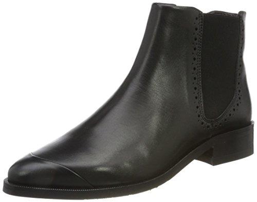 Royal RepubliQ Damen Prime Brogue Chelsea-Blk Boots, Schwarz (Black), 38 EU