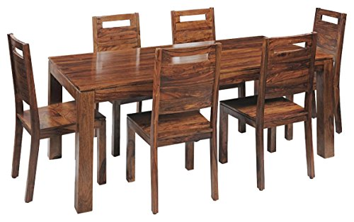 Royal Oak Saphire Six Seater Dining Table Set (Natural)