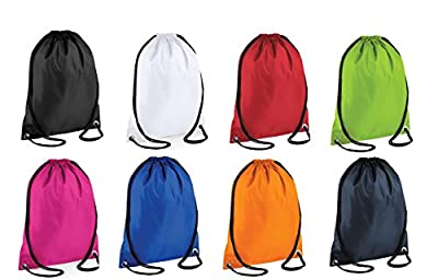 Boys/Girls School PE Bag Waterproof Drawstring Backpack Swim Shoes Gym Sports Bag