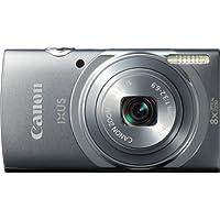 Canon IXUS 150 Digitalkamera (16 Megapixel, Bildstabilisator, 28mm Weitwinkelobjektiv) Grau