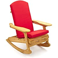 Cojín por Silla de Jardín Adirondack. Una sola pieza por el asiento, espalda y cabeza de la silla. Disponible en 6 colores (520mm x 470mm) - SÓLO COJÍN