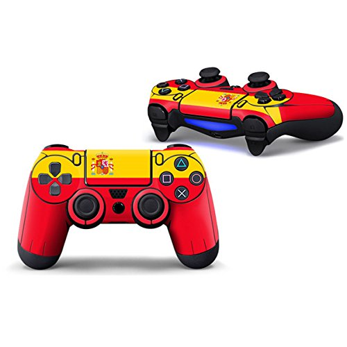 Morbuy PS4 Controller Skin Diseñador Piel Pegatina para Sony PlayStation 4 PS4 Slim PS4 Pro DualShock mando inalámbrico x 1 (Spain)