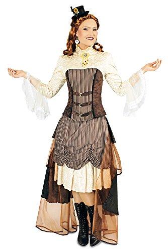 Karnevalskostüm Steampunk Victoria (40-42) (Erwachsene Steampunk Lady Kostüme)