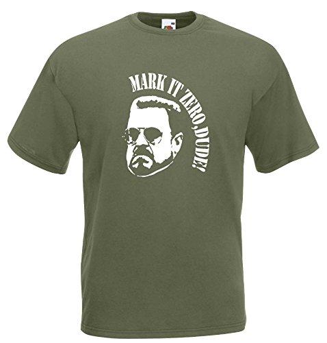 world-of-shirt Herren T-Shirt The Big Lebowski WALTER