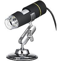 KKmoon Microscope endoscope Numérique 8 LED USB 1000X avec l'Endoscope de Fonction OTG Loupe Magnétique Loupe Lumineux