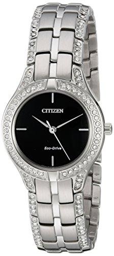 Citizen Eco-Drive Silhouette Silver FE2060-53E - Citizen Eco Drive Silhouette
