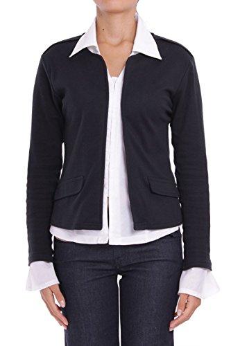 ANTA Q'ULQI - Giacca / Blazer in jersey 100% cotone Pima biologico - nero, L
