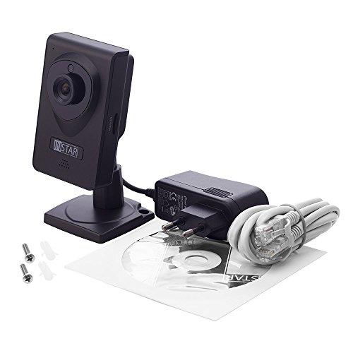 INSTAR IN-6001HD HD IP Kamera / Überwachungskamera / ipcam mit LAN / Wlan / Wifi zur Überwachung oder als Baby Kamera (4 IR LED Infrarot Nachtsicht - 2