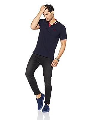 Levis Men's Plain Regular Fit Polo