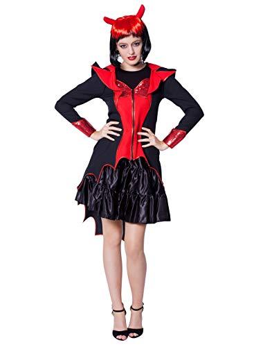 Teufel Kostüm Damen Deiters - Teuflische Vampirin Damenkostüm-Damen