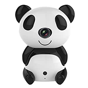 annke panda ip cam ra wireless sans fil cam ra de surveillance audio vid o vid o surveillance. Black Bedroom Furniture Sets. Home Design Ideas