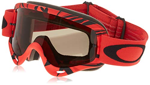 Oakley O Frame MX - Distress Tagline red Yellow/Dark Grey