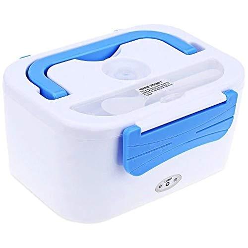 Zleimjab Langlebig Elektrische Heizung Lunchbox Isolierte Doppeldeck-Lunchbox Tragbare Lunchbox (Color : Blau) - Engel Box Die Haben Blue Die