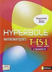 Hyperbole Terminale ES spécifique + spécialité / L spécialité