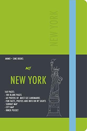 New York visual notebook. Crisp apple green (Notebooks) por Russo William Dello