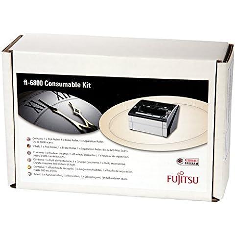 Fujitsu CON-3575-001A pieza de repuesto de equipo de impresión - piezas de repuesto de equipos de impresión (Fujitsu, Scanner, fi-6800, fi-6400, Consumable kit,