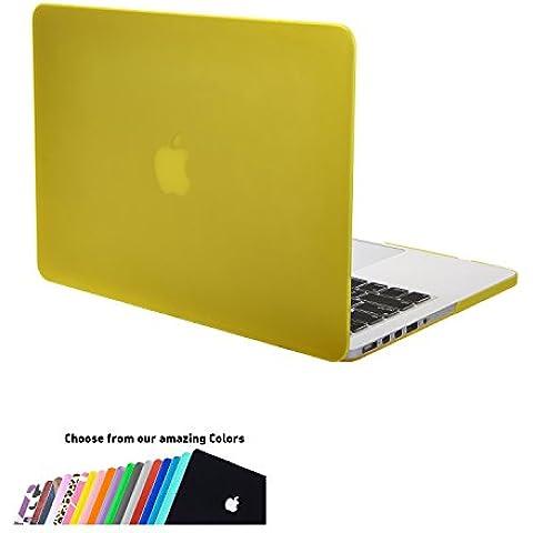 Macbook Pro 15 Retina Custodia Rigida,iNeseon * Ultra Sottile Leggero Peso Plastica Copertina Caso Cover Custodia Copertina per Apple MacBook Pro 15.4