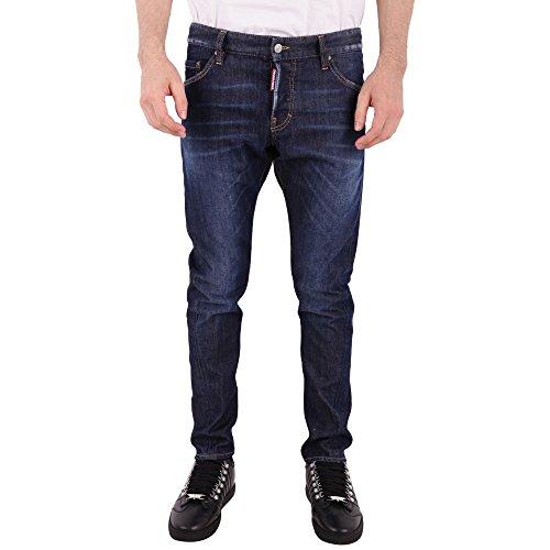 dsquared damen jeans DSQUARED Jeans Sexy Twist S74LB0406 Dark Denim