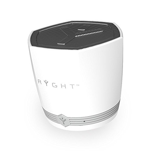 Ryght Exago Enceinte Bluetooth, Gris/Blanc