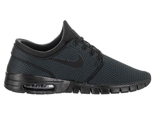 Nike Stefan Janoski Max, Chaussures de Skateboard Homme Schwarz (Nero)