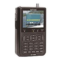 جهاز تتبع الأقمار الصناعية الرقمي DVB-S FTA من Scienish Satlink WS-6906 3.5 بوصة