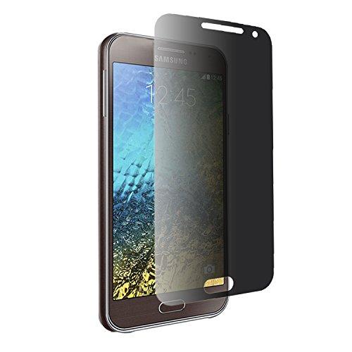 iprotect Screen Guard Protector Bildschirmfolie Blickschutz Schutzfolie für Samsung Galaxy E5 Folie antispy Privacy 0,3mm