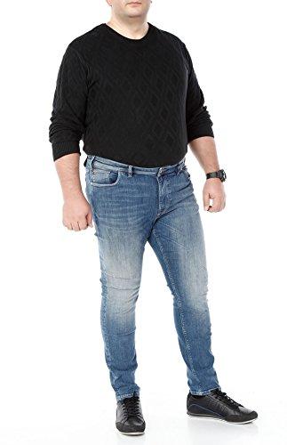 Qvadis 808 Jeans VIGGA; Farbe: Blue Scraping; Größe: D-58 -