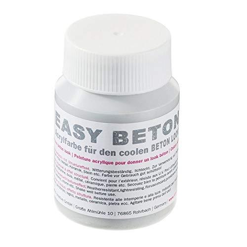 Efco Fil Facile Beton Couleurs, Peinture Acrylique, Blanc, 100 ML