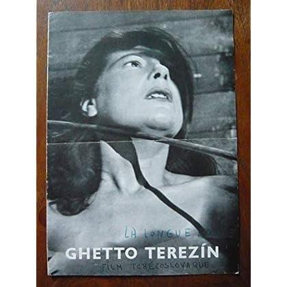 Dossier de presse de Ghetto Terezin (La longue route) (1949) – 21x30cm, 8 p - Film de Alfred Radok avec B Waleska, O Krejca, V Ocasek – Photos N&B - Bon état.