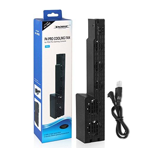 bayeer 5-fan Externe Super Turbo USB Lüfter für Ports der PS4Pro Spiel Konsole Lasko Kleinen Fan