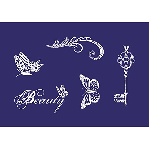 rayher-45065000-vintage-beauty-din-a5-1-schablone-mit-1-rakel-im-sb-btl