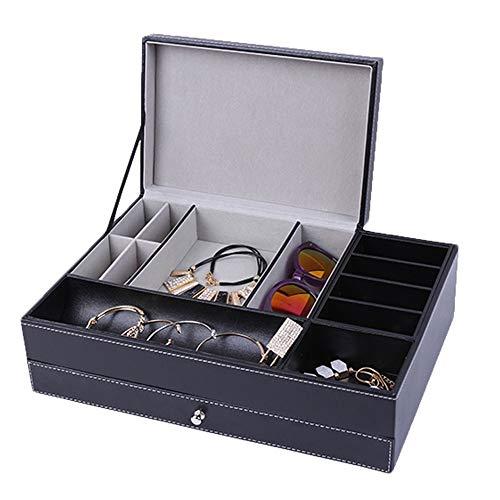 XZGG Brillen Aufbewahrungsbox Sammlung Schmuck-Box Sonnenbrilen Aufbewahrung Schublade Sonnenbrillen Schmuck Kollektion Halter