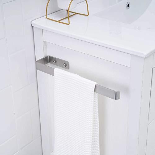 Handtuchhalter Edelstahl wand Handtuchstange Wandmontage Bad und Küche 36cm