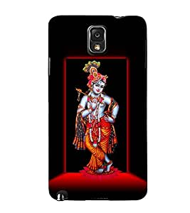 Lord Krishna 3D Hard Polycarbonate Designer Back Case Cover for Samsung Galaxy Note 3 N9000 :: Samsung Galaxy Note 3 N9002 :: Samsung Galaxy Note 3 N9005 LTE