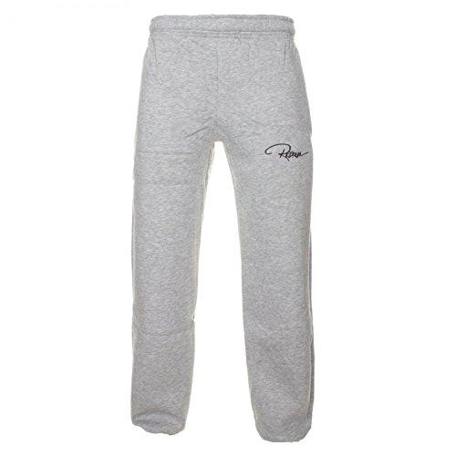Redrum pantaloni da jogging Plain Pant grigio melange