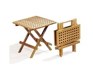 Folding Picnic Table - A-Grade Teak Folding Garden Coffee Table - Jati Brand, Quality & Value