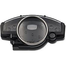 zxmoto Velocímetro Tacómetro Medidor de carcasa para Yamaha YZF R1(2004–2006) YZF R6(2006–2014)