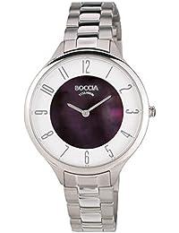 Boccia Damen-Armbanduhr Analog Quarz Titan 3240-04